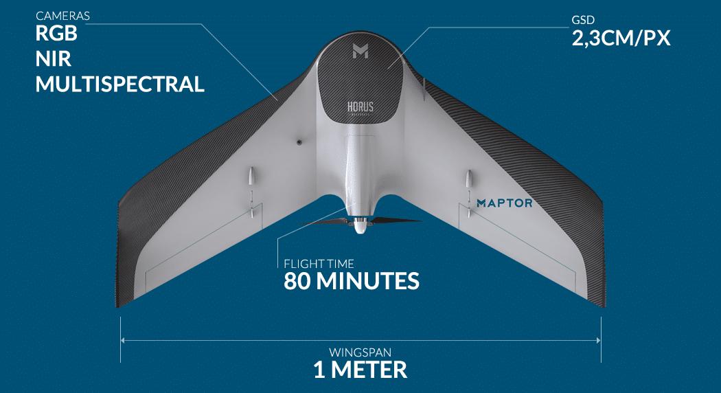 (Português do Brasil) Drone MAPTOR aerial mapping