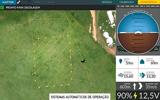(English) Acompanhamento de Voo de Drone - Horus Aeronaves