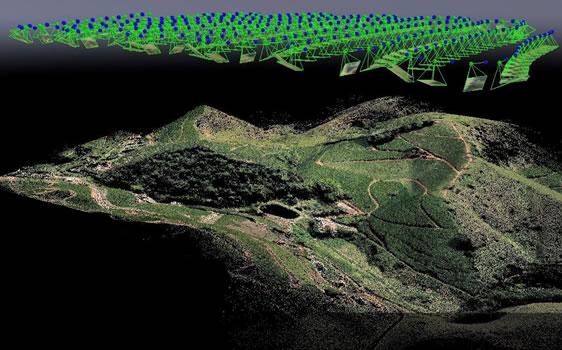 (English) Nuvem de Pontos - Mapeamento com drones
