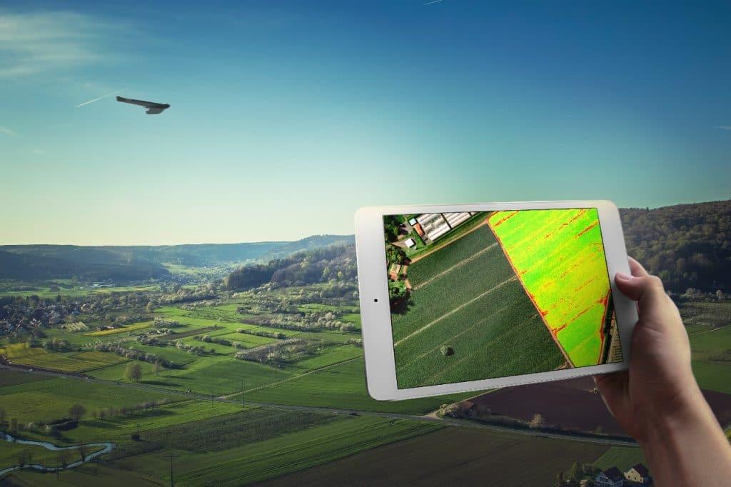 usina de cana-de-acucar: drones sao uma boa ferramenta
