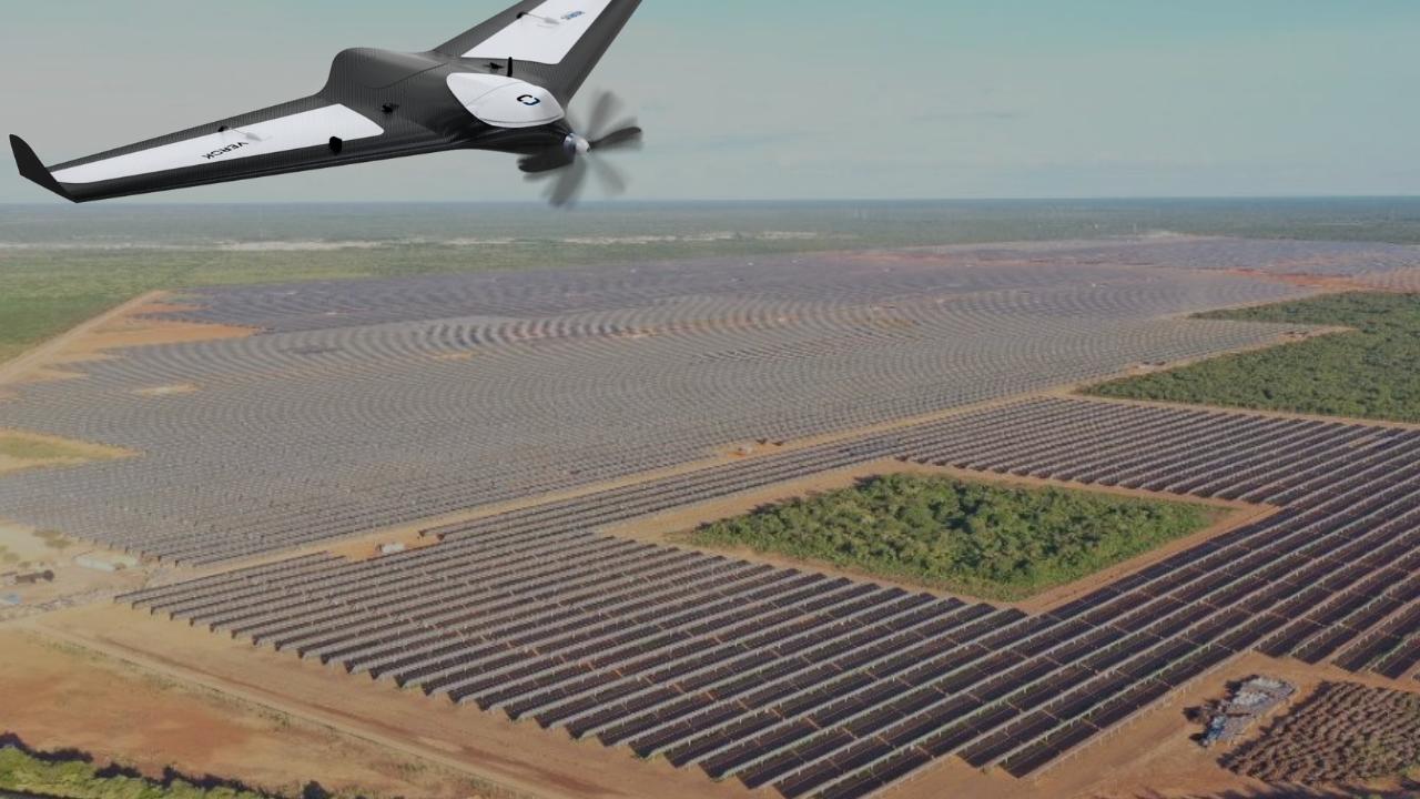 Inspeção com drones em parques solares: como funciona?